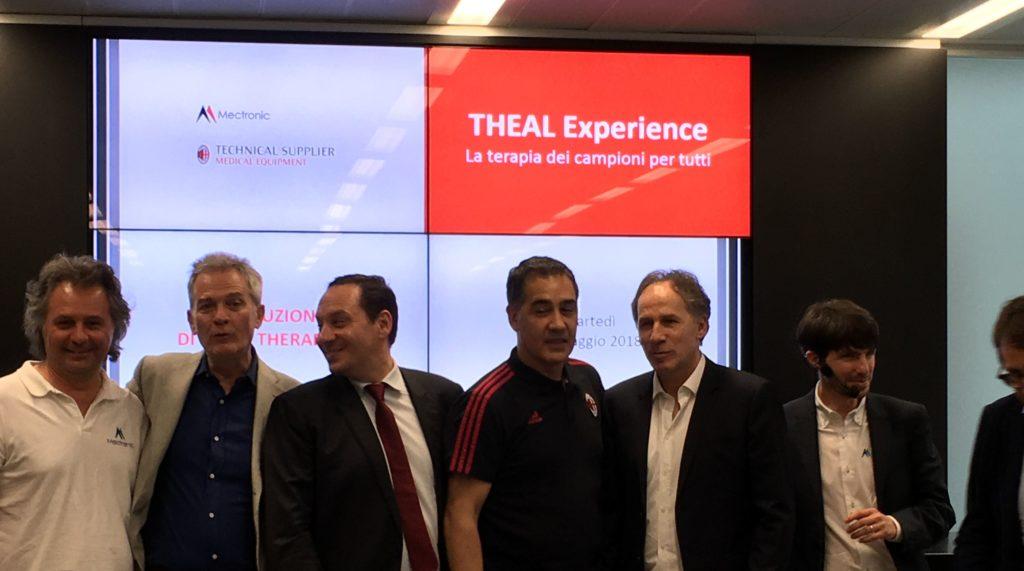 Theal Therapy, tecnologia innovativa scelta da AC Milan