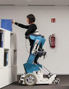 La carrozzina robotica che migliora l'autonomia