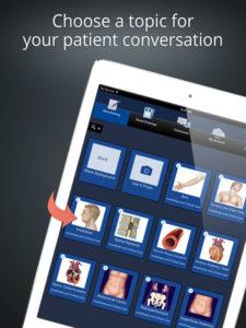 L'app che facilita il dialogo con i pazienti